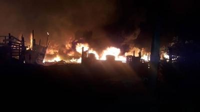HOY / Otro incendio provocado en zona del Cerro Lambaré