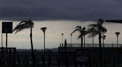 Sistema de tormentas se avecina con fuertes ráfagas de viento