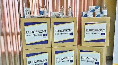 UE dona insumos a servidores en frontera