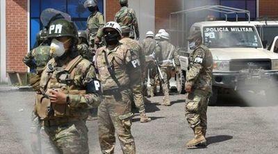 Más de mil militares de primera línea con COVID-19 positivo en Bolivia