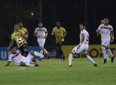 En un partido casi sin emociones, Guaraní y General Díaz se pasaron la mano
