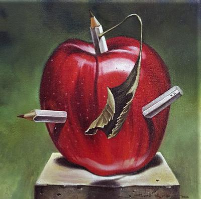 'Pensamientos de un bodegón' de Diego Schäfer se expondrá en la Galería Virtual de la Manzana de la Rivera