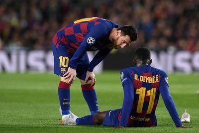 Dembélé podría estar disponible para la revancha de la Champions League