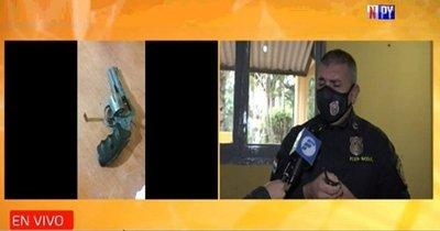 Se enfrentó a delincuente armado que pretendía robarle la moto