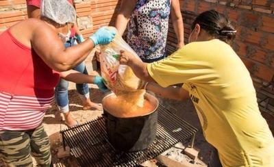 HOY / Organizaciones bañandenses lamentan poca ayuda de la SEN para sostener ollas populares