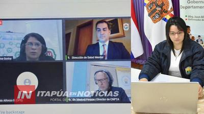 EXITOSO FORO VIRTUAL SOBRE CONSUMO PROBLEMÁTICO DE SUSTANCIAS Y SALUD MENTAL