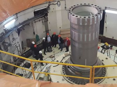 Verificaron avance de modernización de generadores de Yacyretá y tareas para Aña Cuá