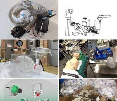 HOY / Hay 7 prototipos de respiradores 'made in Py': analizarán eficacia para fabricarlos