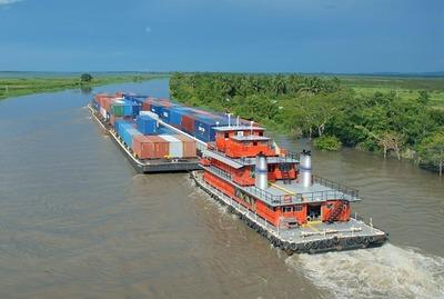 Problemas de navegabilidad de los ríos estancan envíos de soja