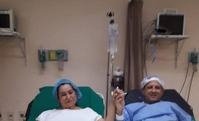 HOY / Realizan trasplante renal a joven pareja en el Hospital de Clínicas