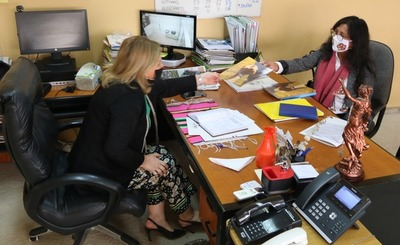 Ministra de la Mujer recibió a representante de la Articulación de Mujeres Indígenas del Paraguay