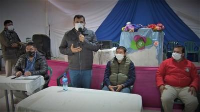 Presidente del INDI mantuvo reunión con líderes de comunidades ñandeva