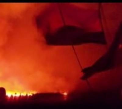 Incendio de gran magnitud en Bolivia podría llegar a Chaco paraguayo