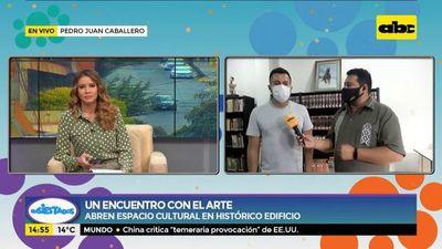 Habilitan espacio cultural en Pedro Juan Caballero