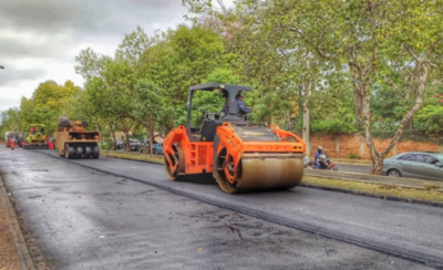HOY / Obras en avenida Boggiani, a punto de ser terminadas y rehabilitadas