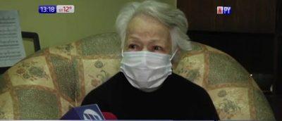 ¡Impotencia! Quieren desalojar a abuelita de 91 años