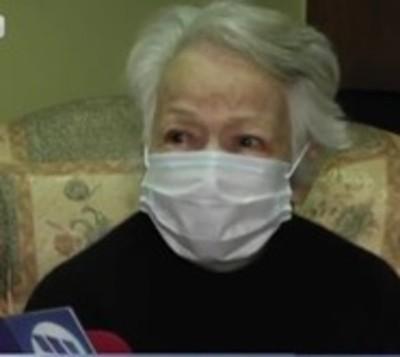 Abuelita de 91 años apunto de ser desalojada de su propia casa