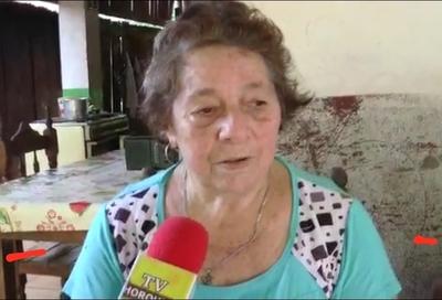 Horqueta: Anciana lucha por evitar que la desalojen de su propia casa