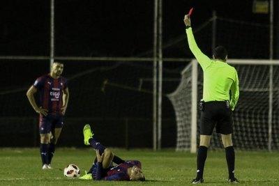 Dos partidos de suspensión para Ángel Cardozo Lucena