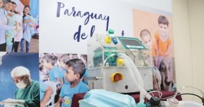 Yacyretá dona respirador de emergencia para terapias en el interior