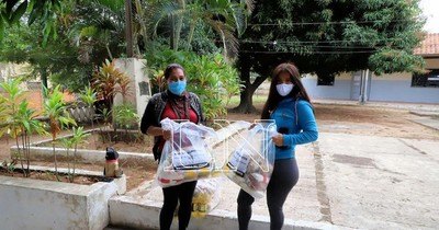 Mi almuerzo escolar en familia: se inició sexta entrega de kits alimenticios en escuelas de Asunción
