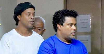 Hermano de Ronaldinho fue atendido de urgencia en sanatorio privado