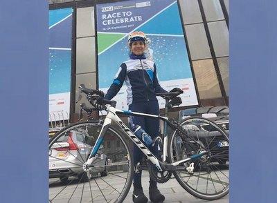 Agua Marina, genia del ciclismo femenino