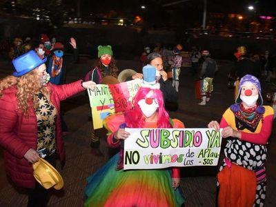 Hoy tratan ley de  subsidio para artistas