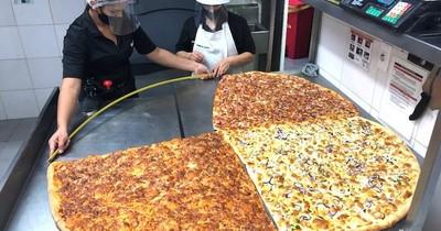 """Sbarro presenta """"Pizza con distancia"""" para celebrar la amistad"""
