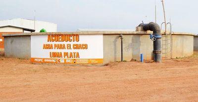 Los reservorios del acueducto del Chaco se llenarían dentro de 15 días