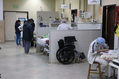 Clínicas: Aumentan pacientes respiratorios en el Servicio de Urgencias de Adultos