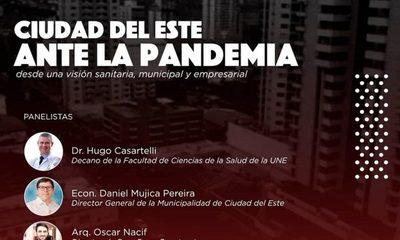 Organizan conferencia virtual sobre «Ciudad del Este durante y post pandemia»