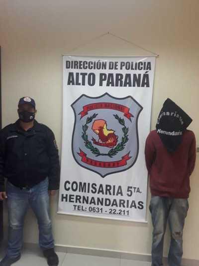 Atrapan a otro ladrón de motos que logró escapar de la Policía