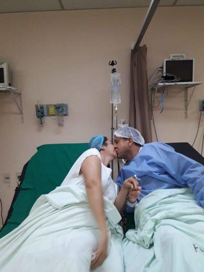 Clínicas: Una pareja es protagonista de trasplante renal