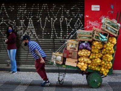 Brasil pierde más de 1 millón de empleos durante medio año
