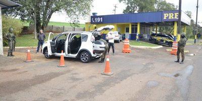 "FF.AA. del Brasil militarizan la FRONTERA ""CERRADA"" con Paraguay"