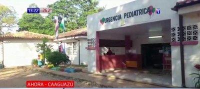 ¡Impotencia! Bebé muere por falta de terapia en Caaguazú