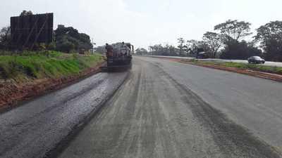Ruta PY02: inician etapa final de pavimentación de la calzada existente en la zona de Caaguazú