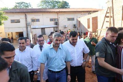 """""""Yo no le puedo meter preso a ninguno"""", dice Mario Abdo y defiende """"operativo cicatriz"""""""