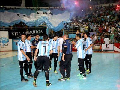 Villarrica será sede del Nacional de Futsal FIFA