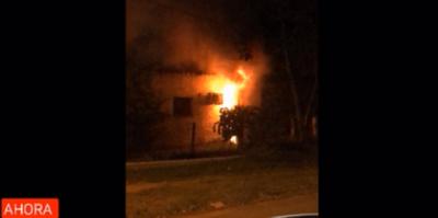 Incendio de vivienda deja una fallecida en Misiones