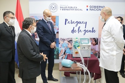 Yacyretá puso a disposición del Ministerio de Salud un respirador de emergencia