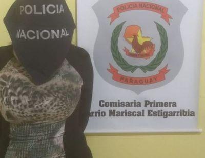 """Garota""""  intentó escapar de la policía y terminó durmiendo en el calabozo"""