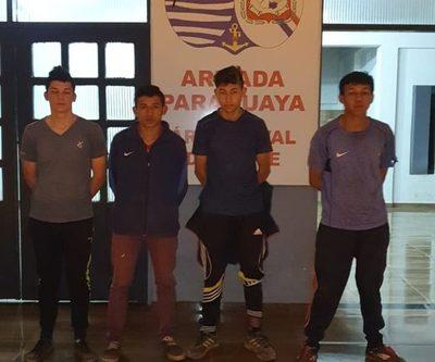 Personal de la Base Naval y Policía Federal  detienen a cuatro jóvenes en el río Paraná – Diario TNPRESS