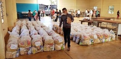 Junta de Hernandarias aprueba adenda para la compra de kits de alimentos