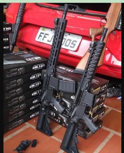 Traficantes convierten armas de AIRSOFT en potentes ARMAS de FUEGO