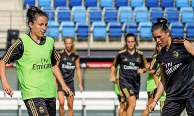 Jéssica Martínez tuvo su primer entrenamiento con el Real Madrid – Prensa 5