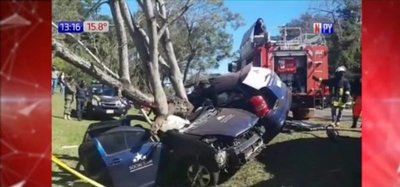 Fatal accidente de tránsito en Colonia Independencia