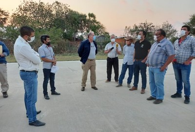 Ministro de la SEN llegó hasta Alto Paraguay a verificar situación de incendios