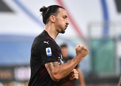 Zlatan lidera el baile del Milan